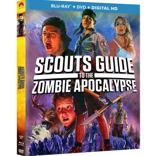 Scouts Guide To The Zombie Apocalypse (Blu-ray + DVD + Digital HD) (With INSTAWATCH) (Widescreen)