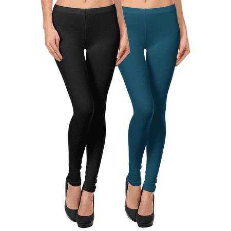 Cotton Jersey Leggings for Women Skinny Fit Ankle Full Length Legging Tights