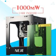 Laser Engraver, 1000MW Laser Engraving Machine Mini Desktop Laser Engraver Machine DIY Logo Laser Engraver Printer