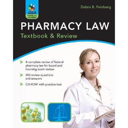 Pharmacy Law Textbook   Review By Debra Feinberg