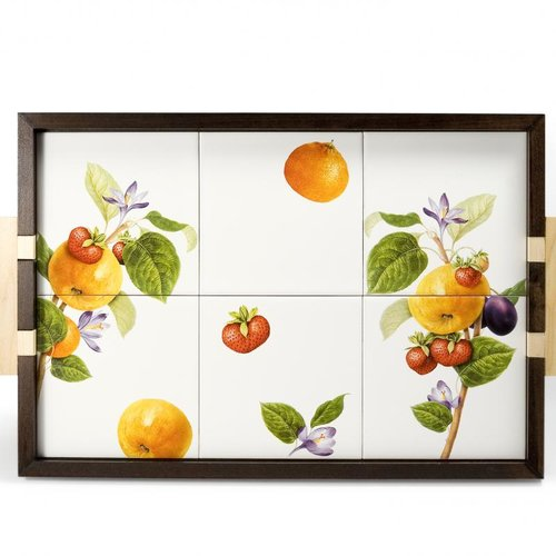 Intrada Italy Vivere Fruit Tree Wood Serving Tray