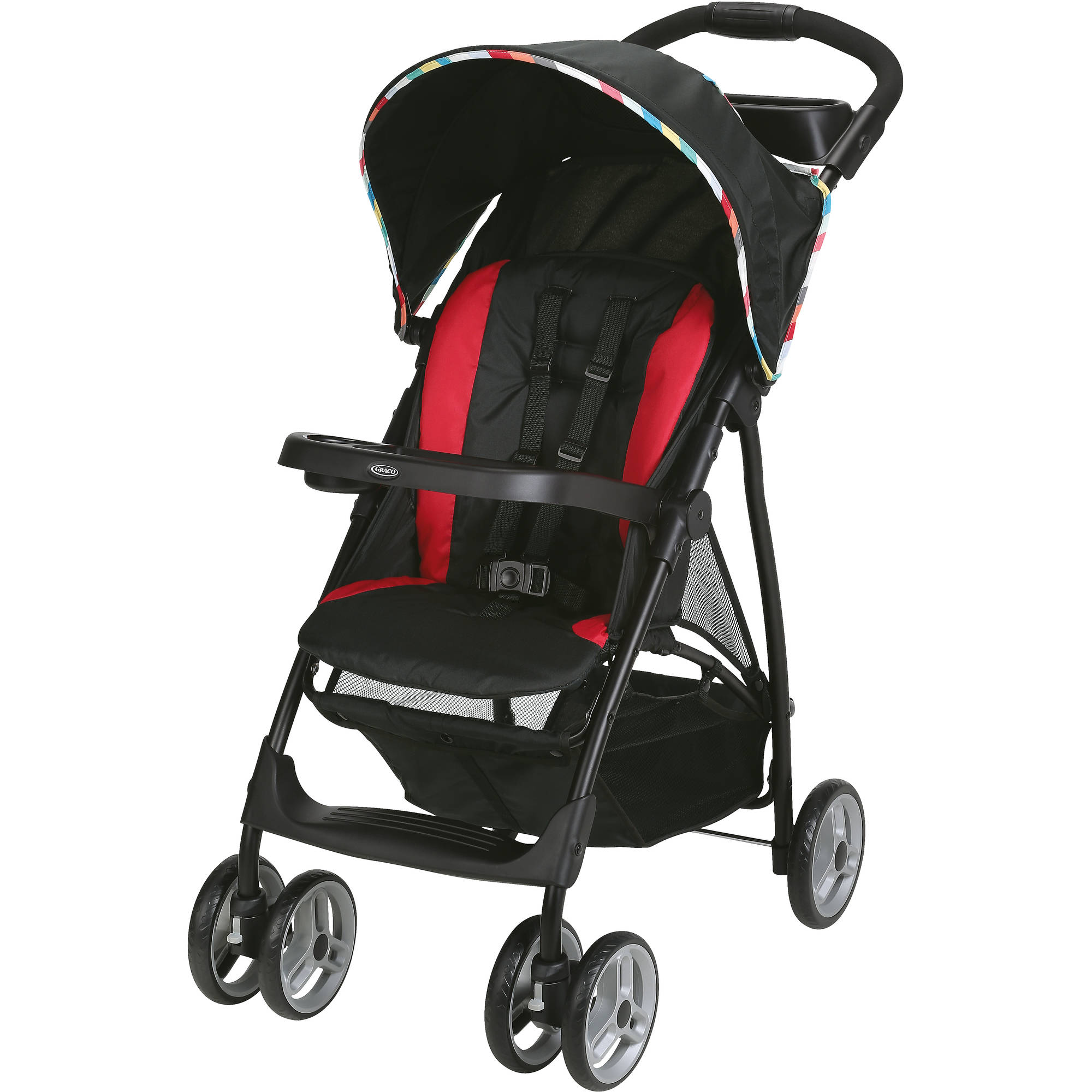 Graco LiteRider LX Lightweight Stroller, Play by Graco