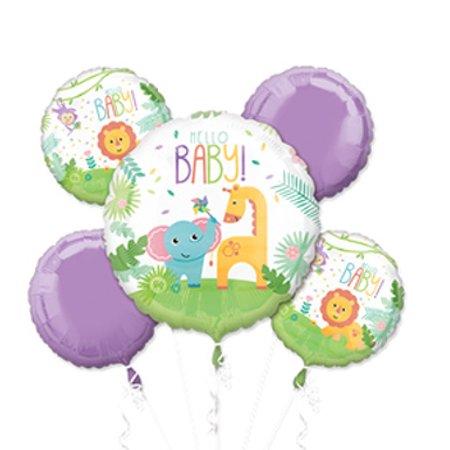 Baby Shower Giraffe (Fisher-Price Baby Safari Baby Elephant Giraffe Baby Shower Balloon)