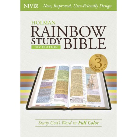 Rainbow Study Bible (NIV) Illustrated Reference Edition ...