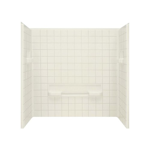Sterling by Kohler Advantage 3-Piece 35.25'' x 60'' x 59.25'' Seated Wall Set
