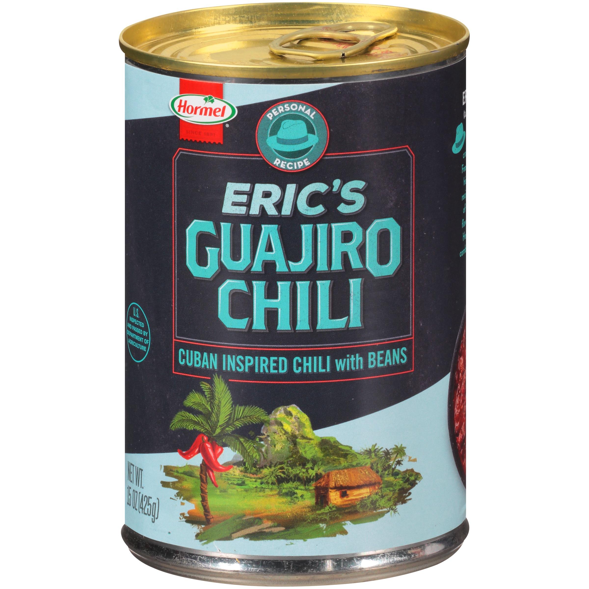 Eric's Guajiro Chili 15 oz. Can