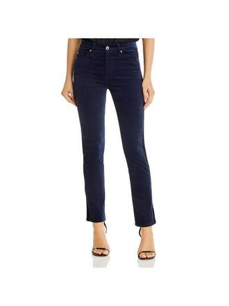 Just Black Denim Womens Denim High Rise Frayed Straight Leg Jeans BHFO 9417