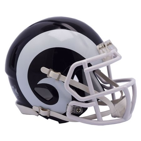 - Riddell Los Angeles Rams Revolution Speed Mini Football Helmet