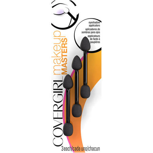 (2 Pack) COVERGIRL Makeup Masters Eyeshadow Applicators - 3 CT
