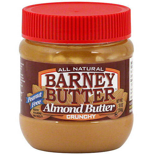 Barney Butter Crunchy Almond Butter, 10 oz (Pack of 6)