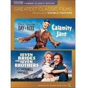 TCM Greatest Classic Films: Musicals Double Feature Calamity Jane   Seven Brides For Seven Brothers by WARNER HOME VIDEO