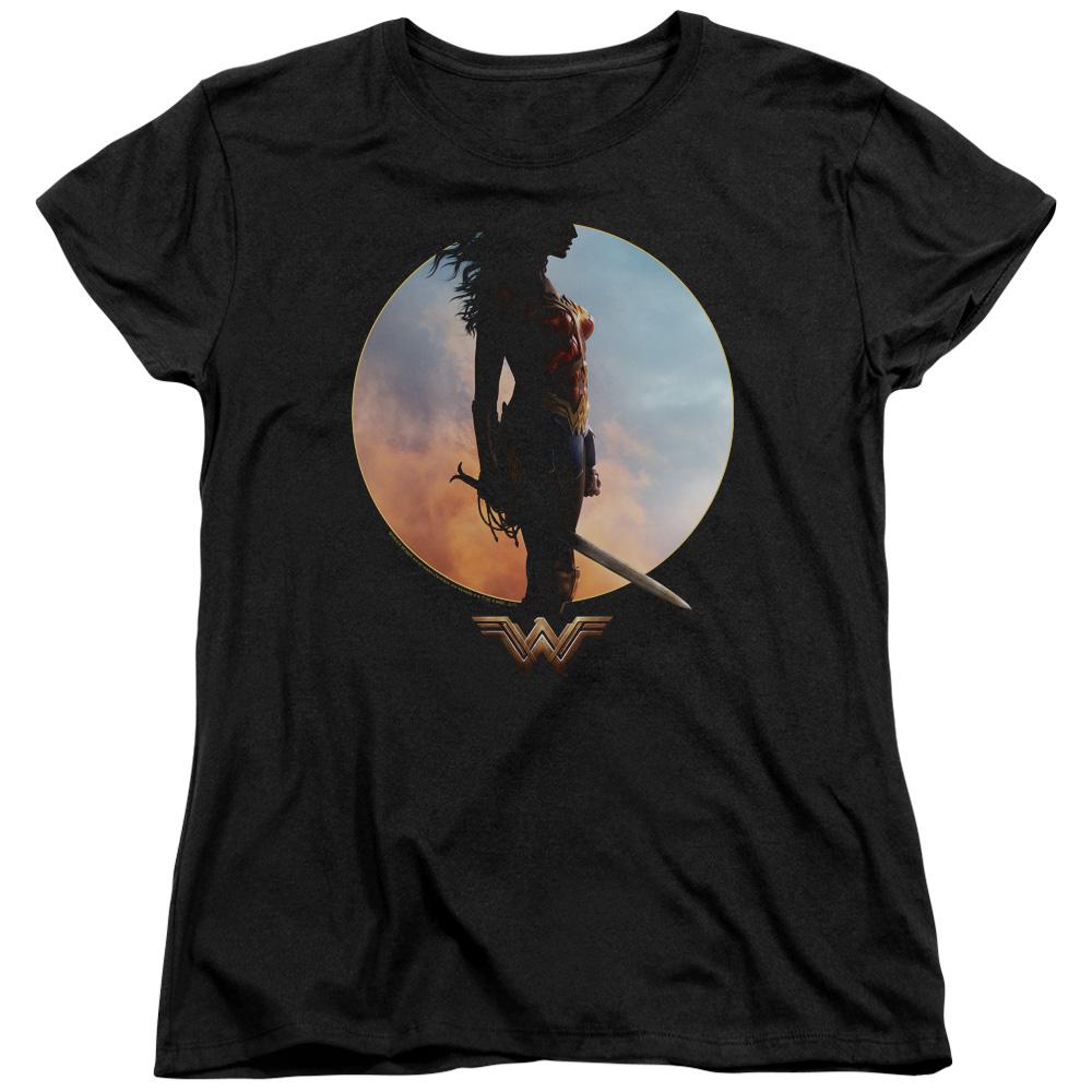 Wonder Woman sagesse et Wonder manches courtes T-shirt de la femme-9022