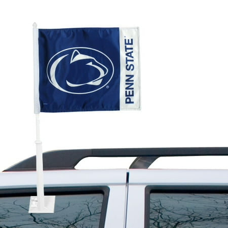 Penn State Nittany Lions Car Flag - Navy Blue - No Size