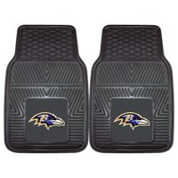 "Baltimore Ravens 2-pc Vinyl Car Mats 17""x27"""