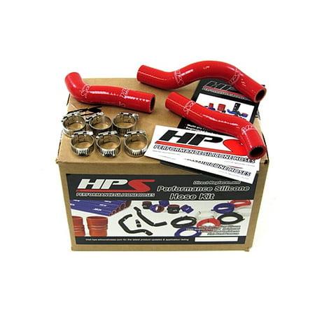 HPS Red Reinforced Silicone Radiator Hose Kit Coolant for KTM 11-12 250SXF