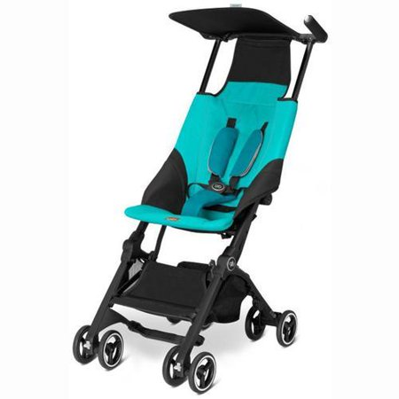 GB Pockit Lightweight Stroller, Capri Blue