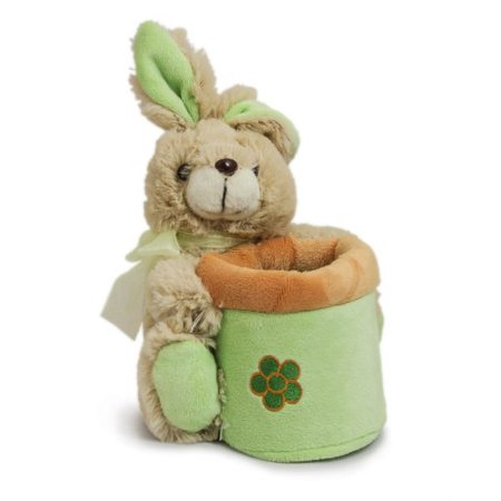 Beverly Hills Teddy Bear Company Springtime Bunny Basket in - Donnie Darko Bunny