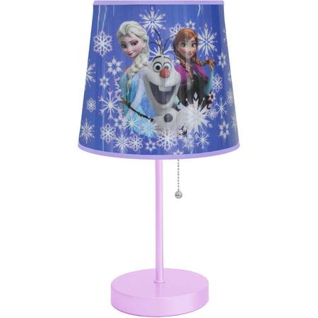 Disney Frozen Snowflake Table Lamp Toy Walmart Com