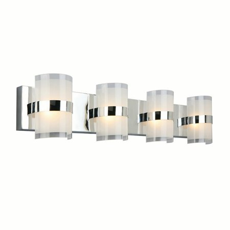 Design House 577791 Haswell 4-Light LED Wall Light, Polished