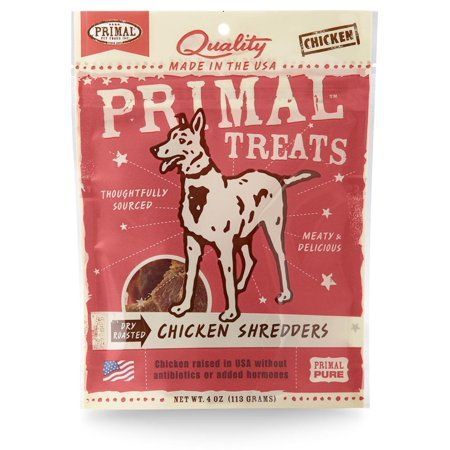 Chicken Shredders, All Primal Treats Are Produced Using Usda Meats, Poultry And Game Raised In The United States And New Zealand Without Antibiotics Or.., By