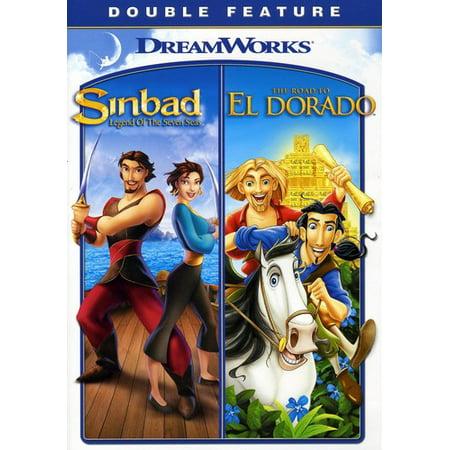 Seven Seas Four - Sinbad: Legend of Seven Seas & Road to El Dorado (DVD)