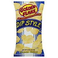 Golden Flake Dip Style Potato Chips, 5 Oz.