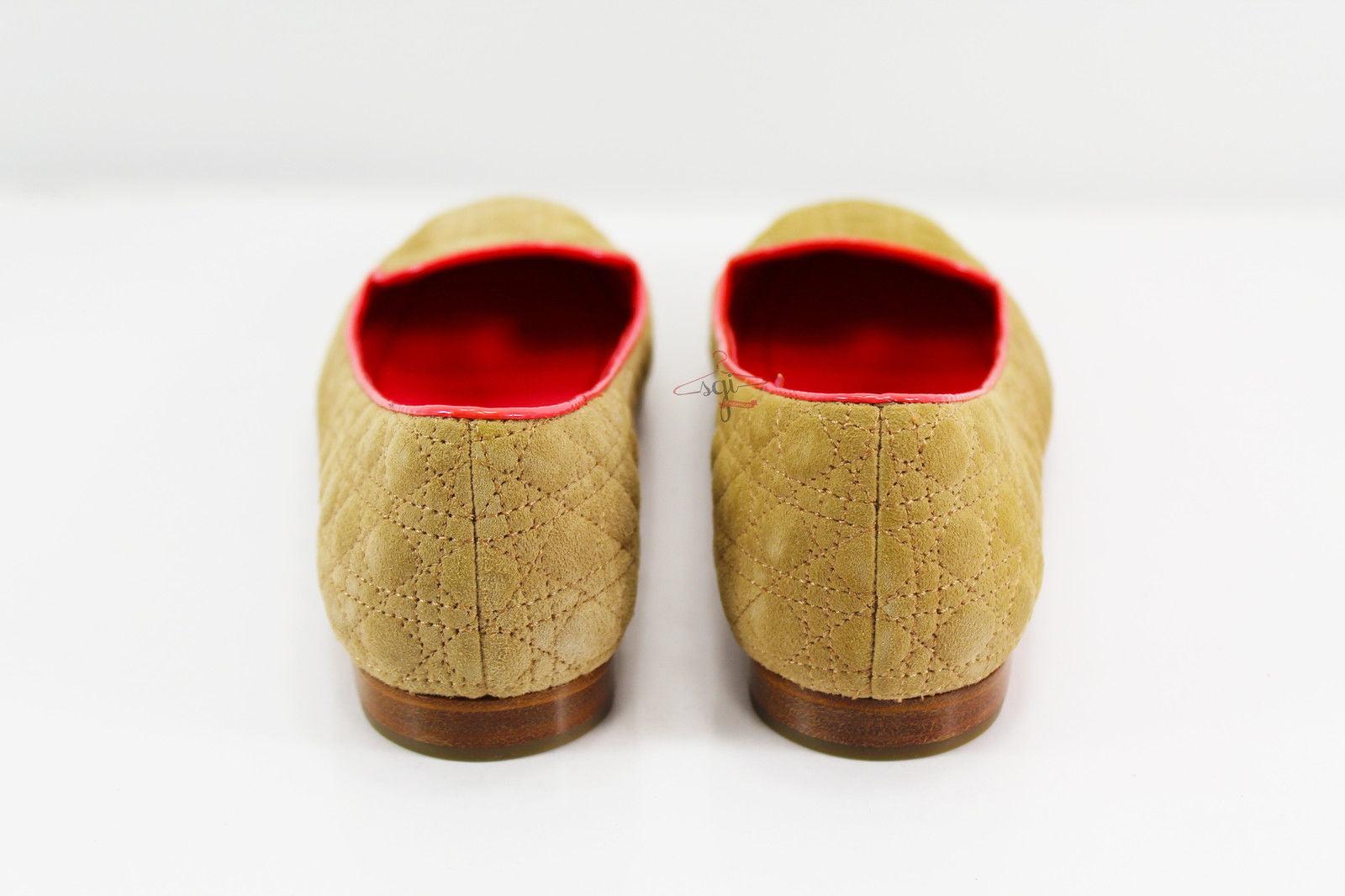 Christian Dior Womens Ballet / Flats Size 5.5 US / Ballet 35.5 EU Beige 771d92
