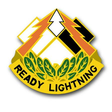 3.8 Inch Army 335th Signal Command Unit Crest Vinyl Transfer Decal