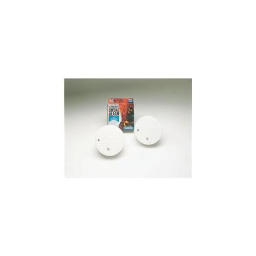 Walter Kidde Portable Equipmnt #0915 Lifesaver Smoke Alarm  9v Battery Included