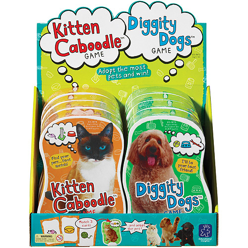 Educational Insights Kitten Caboodle And Diggity Dogs Party Pack