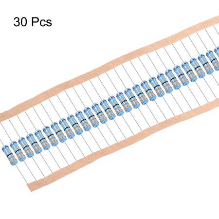 1W 33 Ohms Résistances à couche métallique 1% tolérance 30Pcs - image 3 de 4