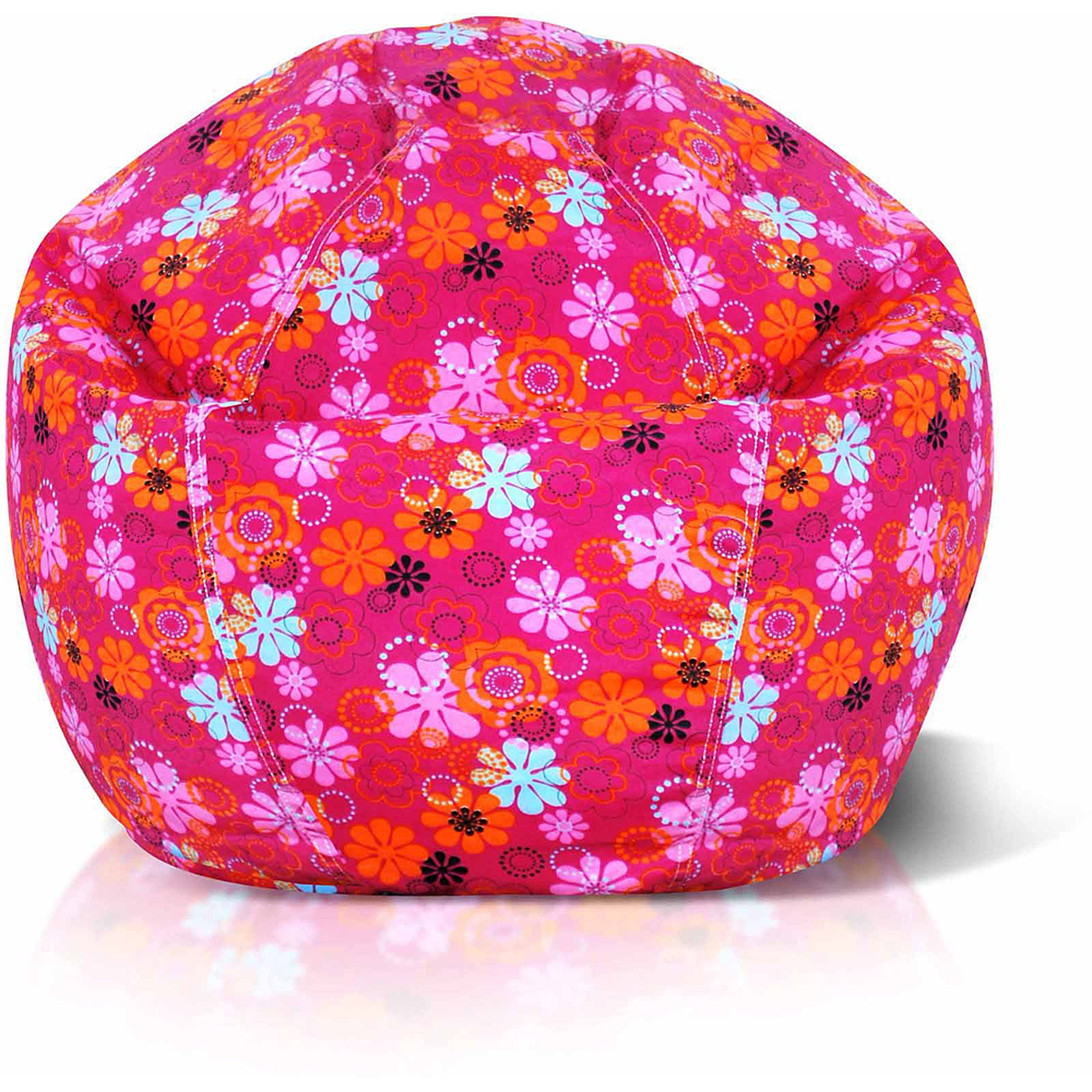Junior Print Collection Bean Bag Chair, Multiple Colors