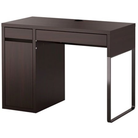 Ikea Micke Desk Black Brown - Cheap Fancy Dress Ideas Make Your Own