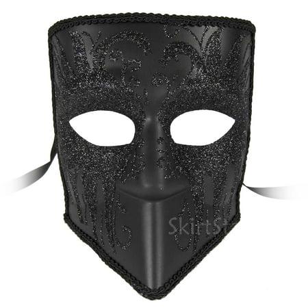 Adult Zanni Venetian Male Masquerade Costume Mask](Masquerade Masks Male)