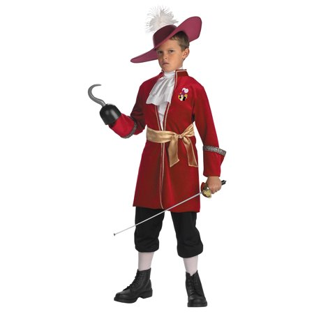 Captain Hook Child Halloween Costume (Fire Captain Costume)