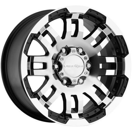 - Vision 375 Warrior 17x8.5 6x135 +25mm Black/Machined Wheel Rim 17