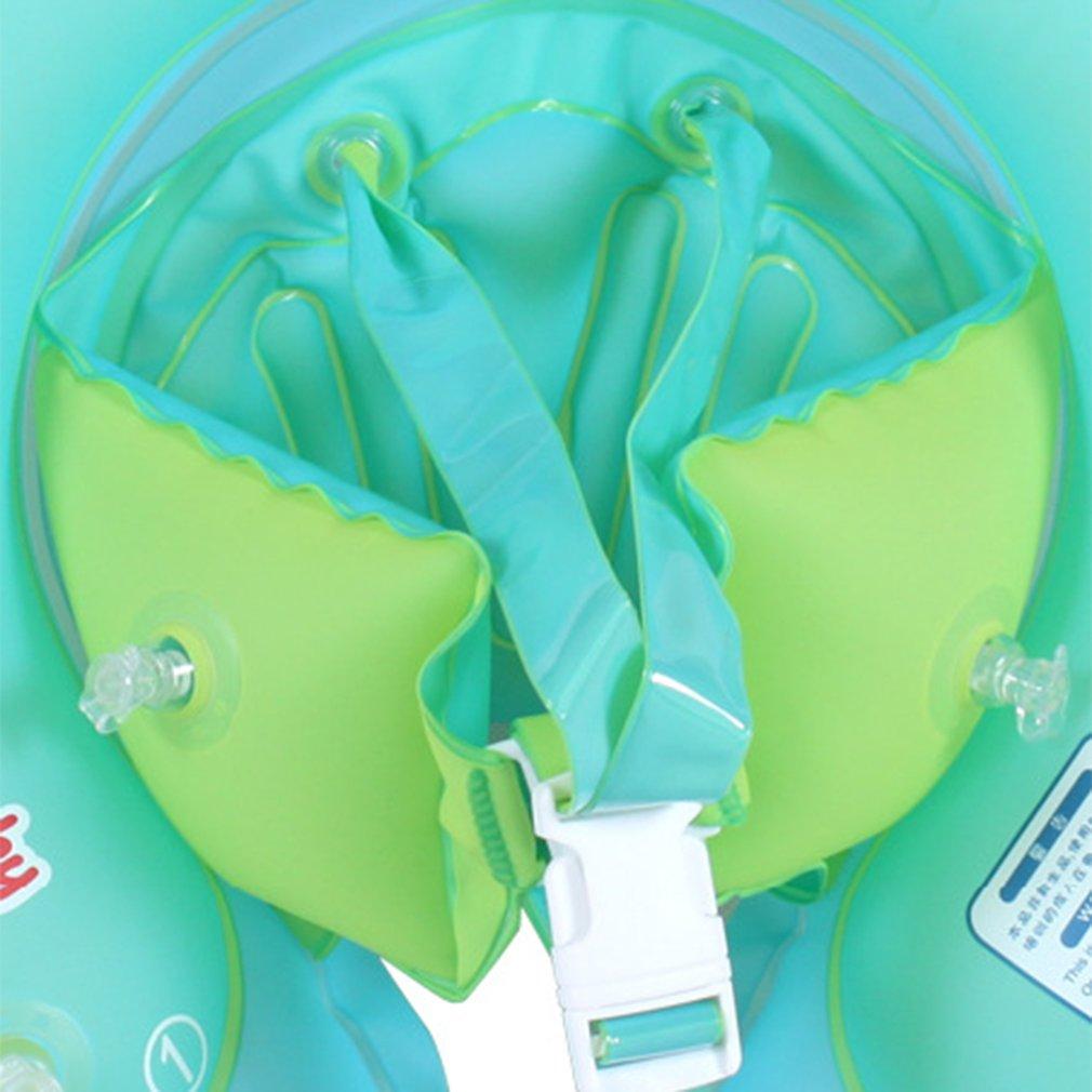 Free Swimming Baby Inflatable Swim Ring Infant Floating Kids Bathing ...