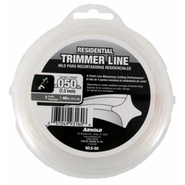 Arnold 247311 0.06 in. x 40 ft. Twisted Trimmer Line, Black
