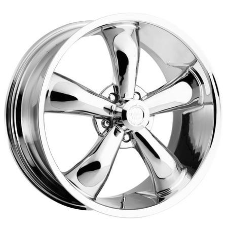 Vision Legend 5 18x9.5 5x120.7 0et Chrome Wheel
