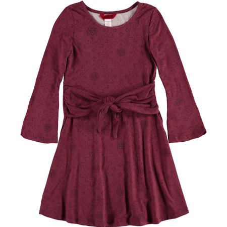 1st Kiss Girls 7-16 Long Sleeve Casual Dress (A Girl Kiss A Girl Without Dress)