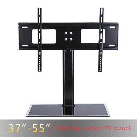 HURRISE Tabletop TV Stand Mount for 27  29  30  32  37  39  40  43  47  48  50  55  LED/LCD Flatscreen TVs  Samsung TCL Vizio LED LCD Flat screen TV ()
