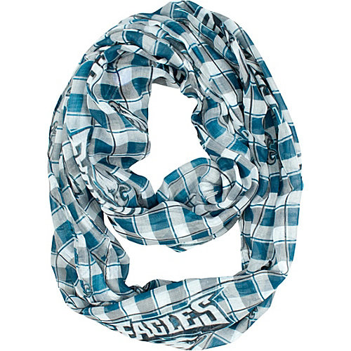 Littlearth Sheer Infinity Scarf Plaid - NFL Teams