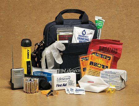 "9"" Personal Emergency Survival Kit, 81001 by LIFESECURE"