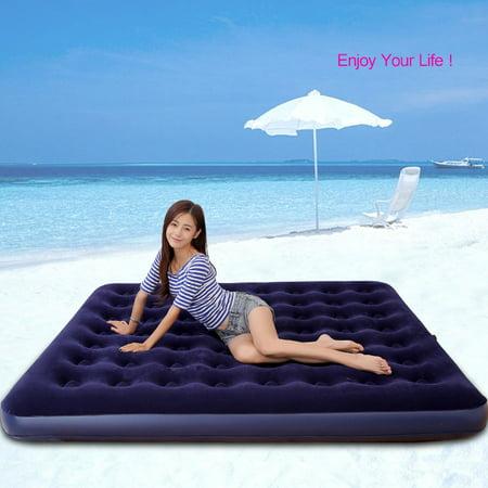 Classic Deluxe Inflatable Air Mattress Sleeping Sofa Mat