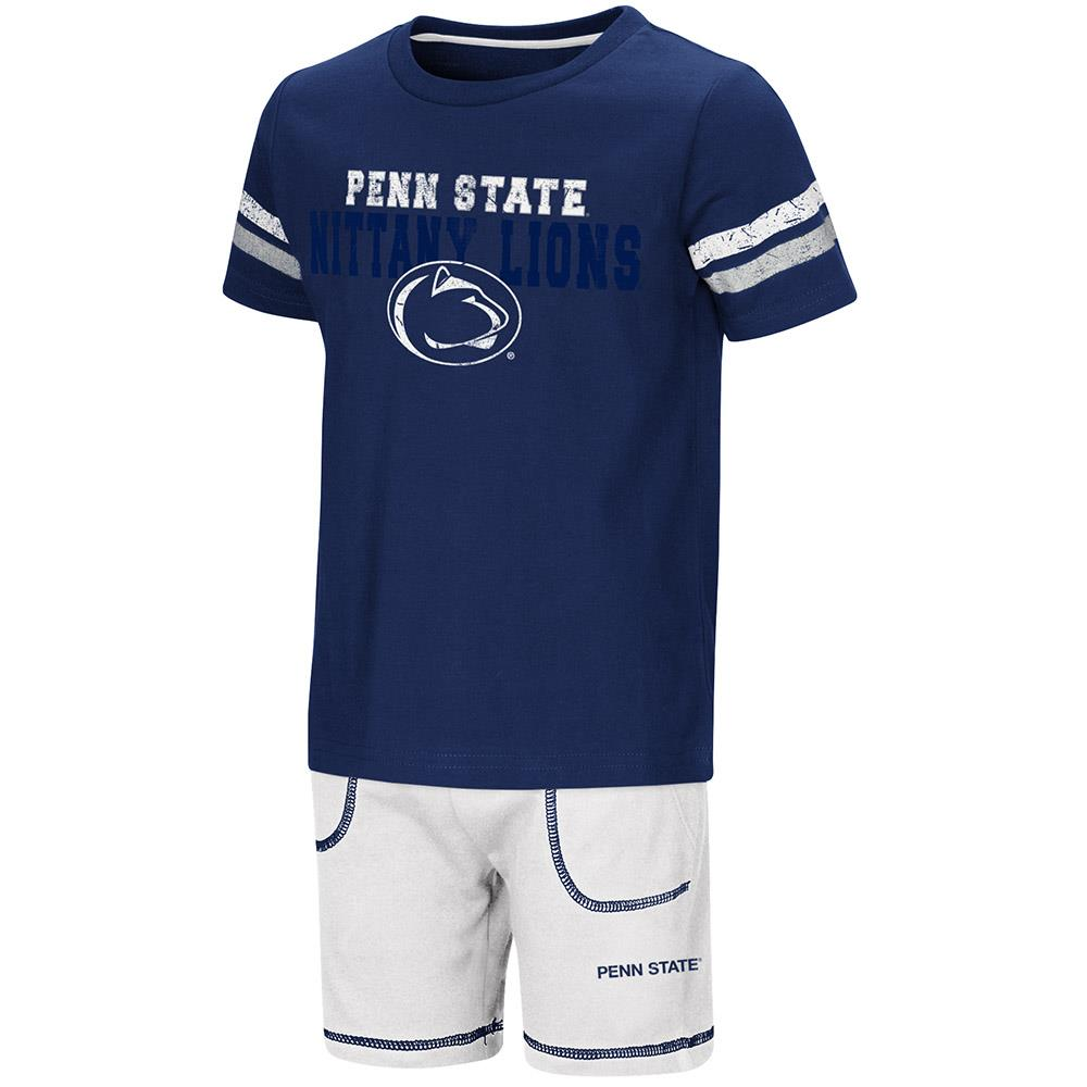 Toddler Penn State Nittany Lions Short Sleeve Tee Shirt and Shorts Set - 2T