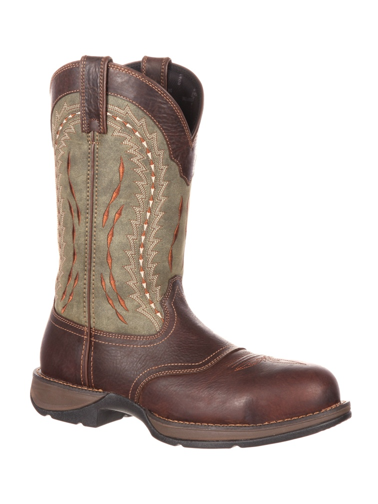 Durango Rebel Composite Toe Saddle Western Boot DDB0107 by Durango