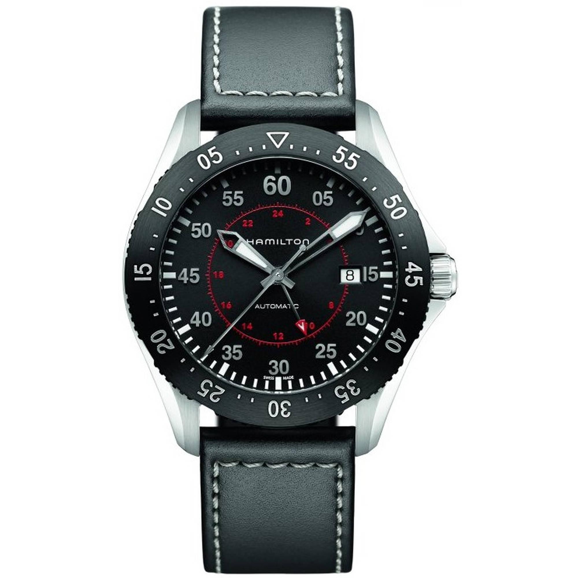 Hamilton Khaki Aviation Pilot GMT Mens Watch H76755735 by Hamilton