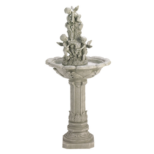 Zingz & Thingz Polyresin Frolicking Cherub Polyresin Fountain by Zingz & Thingz