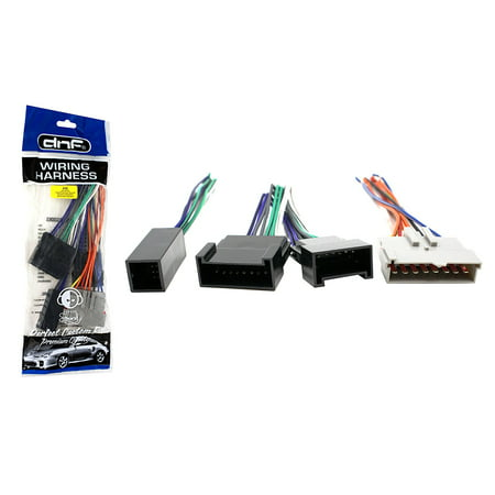 DNF Aftermarket Wiring Harness for Select Ford, Lincoln, Mercury Vehicles (70-5514) - 100% Copper Wires