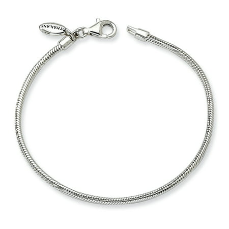 "Sterling Silver Reflections Kids Bead Bracelet 6 Inch ""Bracelets - image 1 of 1"